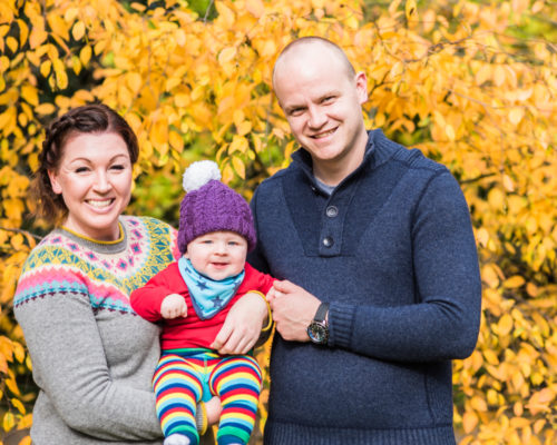 Baby portraits in Sheffield with Jake