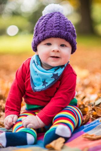 Baby smiles portraits in Carlisle