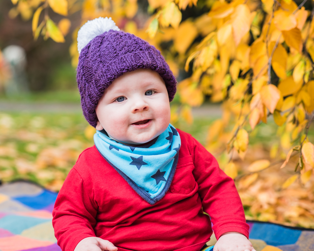 Smiley Jake on his Autumn photo shoot in Carlisle