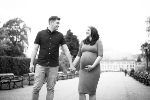 Sheffield Botanical Gardens maternity portraits for Radha