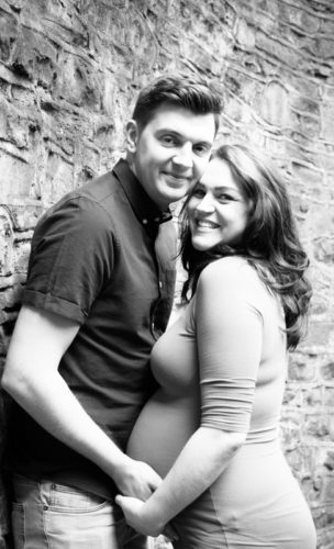 Baby bump photos for Radha in Sheffield