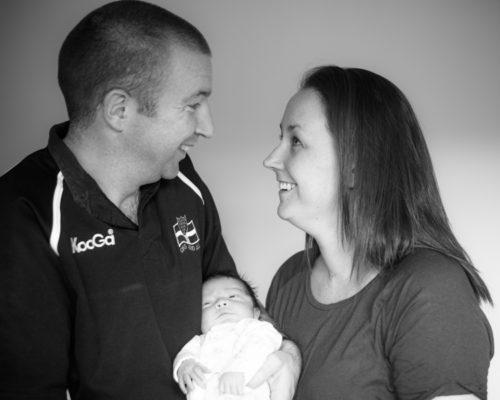 newborn family portraits in Keswick
