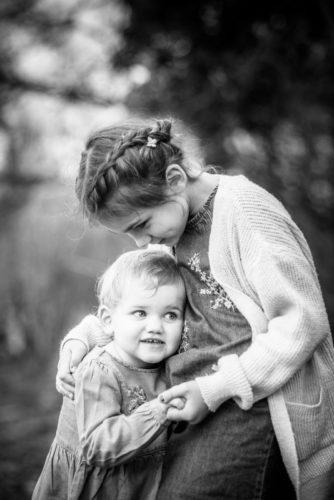Black and white cuddles, Keswick baby photographers