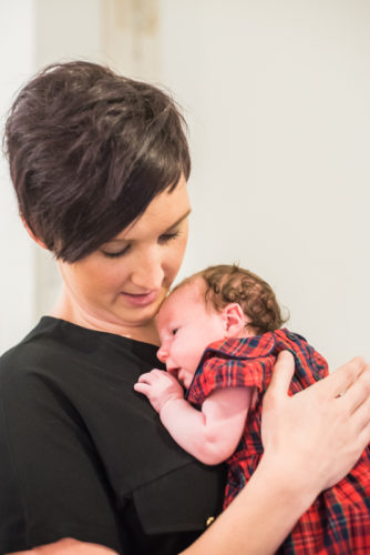 Cuddles from Mum - newborn photographer Cumbria