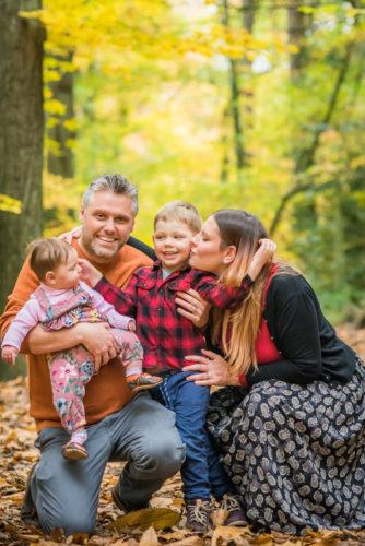 Family cuddle - Carlisle family photographers
