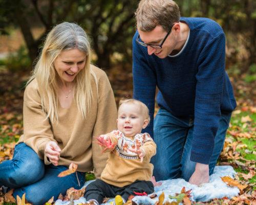 Sitting with Mum and Dad - Carlisle baby photographer