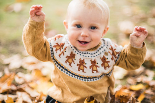 Lake District baby photography in the Autumn