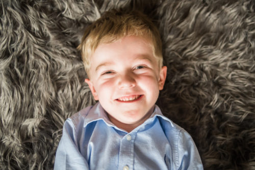 Smiling Riley - child photographer Cumbria