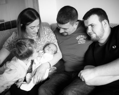 Family cuddle - Annan photographers