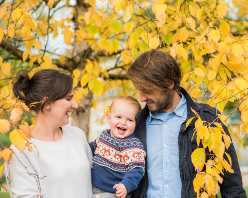 Family photographs in the Lake District in Autumn