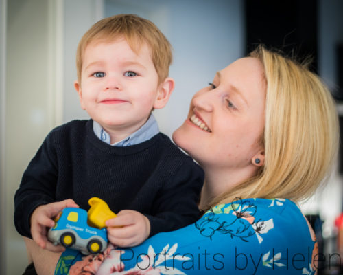 Smiling with Mum, Maryport baby photographer