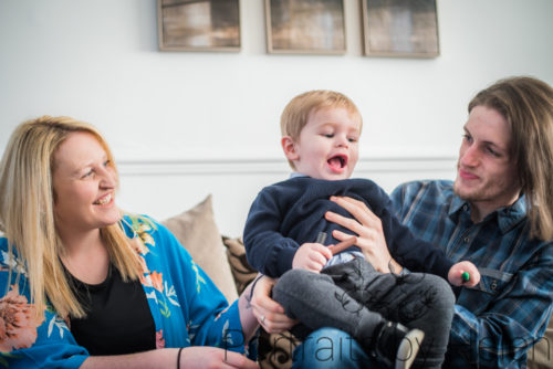 Family laughing, family photographer Carlisle