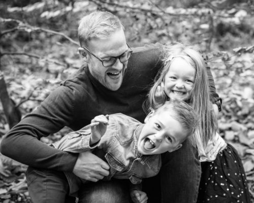 Tickles from Dad - Workington family photographers