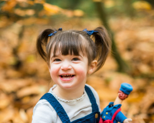 Laughing Penny, Autumn baby photos Cumbria