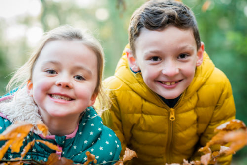 Smiles for brother and sister - Carlisle photographer