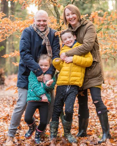 Keswick family photographs, Autumn