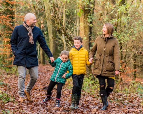 Family walk, Carlisle baby photographers