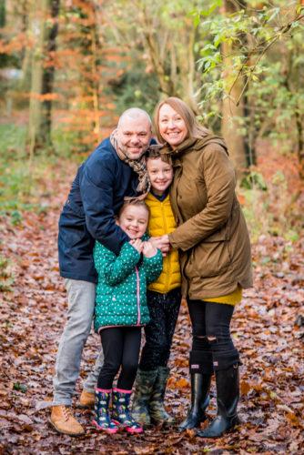 Family cuddle, Sheffield baby photographers