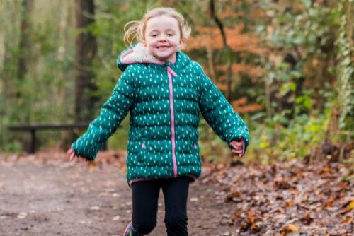 Running Poppy, kids photographer Carlisle