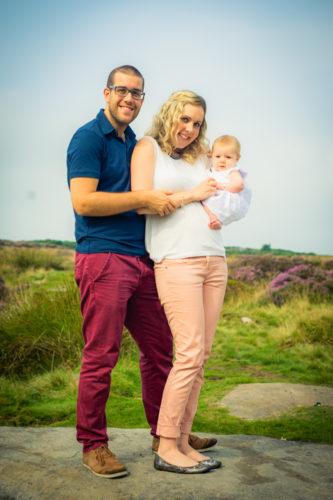Cuddles with family, newborn photographer Workington