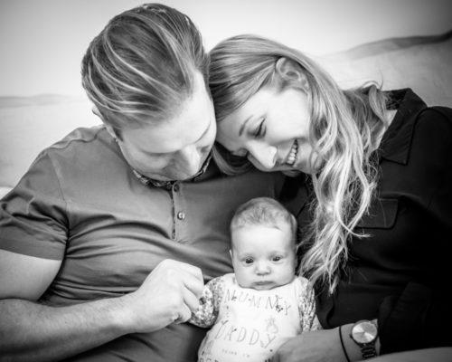 Family snuggles, baby photographer Carlisle