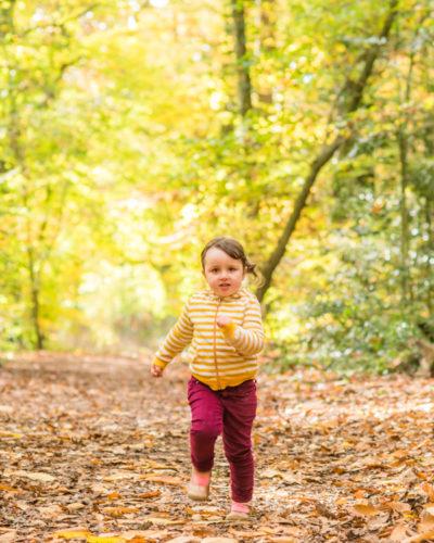 Felicity running, Carlisle baby photographers