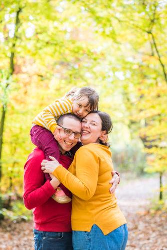 Family cuddles, woods, Carlisle baby photographers