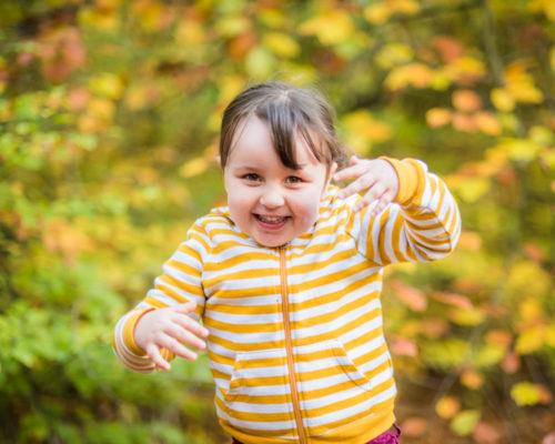 Maryport baby photographers, Lake District Autumn portraits