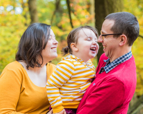 Family laughter, Cockermouth newborn photographers