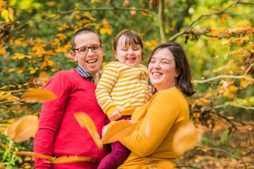 Newborn photographers Cumbria, woodland walks