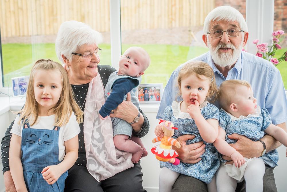 All the grandkids! Carlisle baby photographer