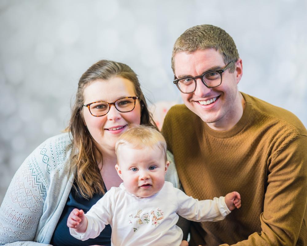 Family portrait, Wigton newborn photographers