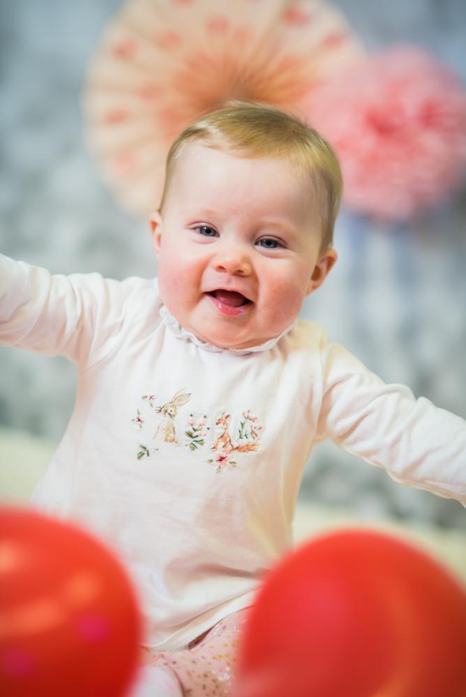 Smiling baby photographs, Carlisle newborn photographer